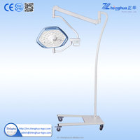 urgical operation light 1 Adjustable color temperature and illumination battery back-up medical lamp