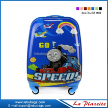 Children rolling luggage case boy travel luggage kid's suitcase