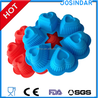 Brand new classic round Cheap Bakeware Items Soap Molds With High Quality food grade silicone cake mould cake tools