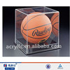 clear transparent acrylic display case for basketball display, basketball stand