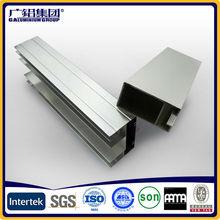 Comercio al por mayor de alta calidad la forma de u perfiles de extrusión de aluminio