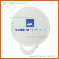 Colorful Promotional Foldable Nylon Folding Fan