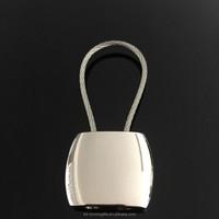 High quanlity blank glossy key chain Wholesale blank metal keychain custom made keychains