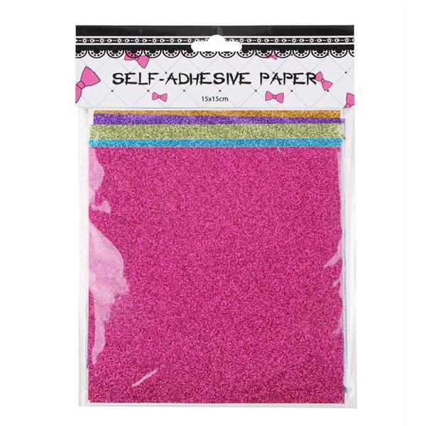 Interwell CBT26 Paper Craft para Scrapbooking atacado auto papel adesivo brilho