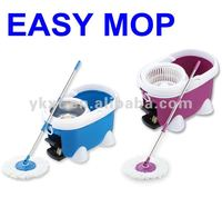 2012 new design mop twister with stainless basket