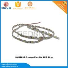 Producer smd 3258 led flexible strip for illuminated signage