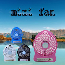 Newest mini Portable USB FAN 18650 Lithium Fattery rechargeable Fan Turbo Fan High Quality