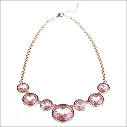 latest design fashion necklace of gold jewelry
