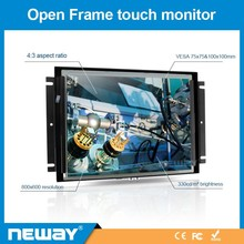 "High quality K1213 12.1"" Metal Housing Touch Function 800*600 Resolution LCD Monitor"