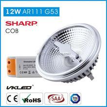 living room PF>0.9 g53 ar 111 lamp led