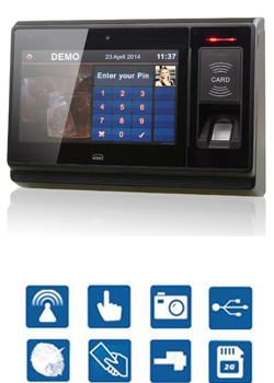 Fingerprint Access Control and Time Attendance System with Android, Linux, original manufacturer