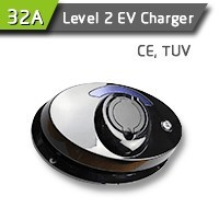 32A Wall Electric Vehicle Charging Station For Electric Vehicle Charging