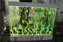 7 RGB LED small water bubble spot panels wall room divider
