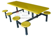 Dining Room Furniture Fiberglass Dining Table and Chair Sets