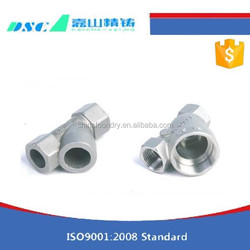 2015 OEM Precision Casting Product of Stainless Steel Valve Spare Parts with top quality