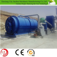 Hottest sale in Alibaba scrap tire/rubber cable recycling into oil machine