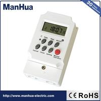 Alibaba Express China LCD 25A 250VAC Programmable Time Switch