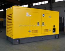 xiamen importe do reino unido motor diesel 35kw a 350kw preço do gerador silencioso