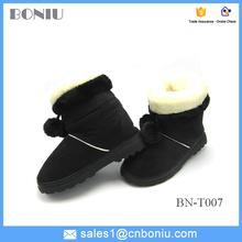 Precioso goma suela botas de invierno para mujeres