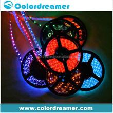 DMX512 control rgb white strip led light for amusement decoration