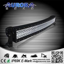 AURORA china manufacturer 40inch curved led led light bar off road