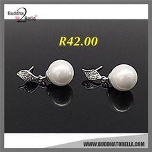 Best selling simple design dangle women earring eardrop with workable price