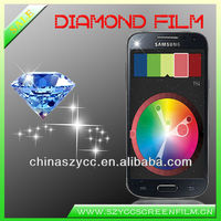 New High Clear Diamond Screen Protector For Samsung Galaxy S4 mini Accept PayPal