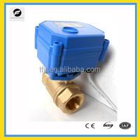 """CWX-15Q/N float motor ball valve(1/2"""") DN15 3-6V,9-24V,220V BSP motorized ball valve for water treatment ,heating system"""