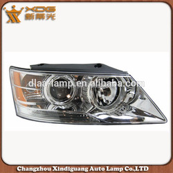 Automobiles & Motorcycles Hyunda car body parts front light , yellow front head lamp for sonata 2008