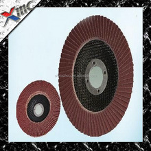 best quality grit 60# 80# sanding flap wheels for stainless steel , metal , wood grinding low price