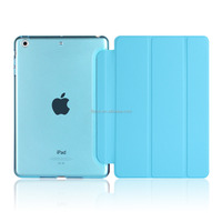 New Product for apple ipad mini 2 cases flip smart case for new ipad mini