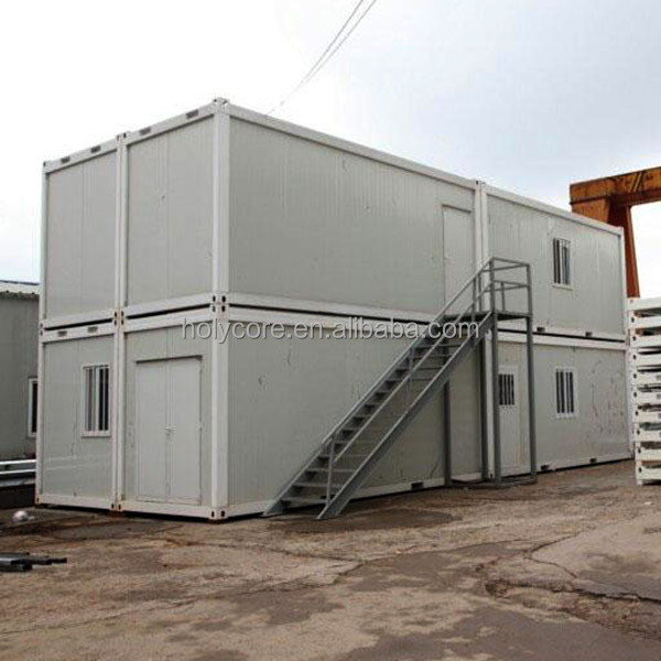 Prefab underground 3 story container house made of holypan for Prefabricated underground homes