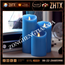 Bar & coffee shop decorated candle flameless lighter with scent for home decoration