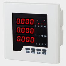 Three-phase multifunctional power meter(LED)