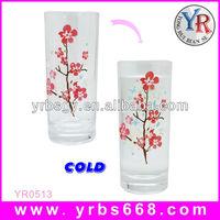 Best Seller!!! Cold Water Color Change Mug Magic Beer Glass Shenzhen Factory
