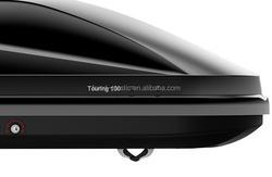 Hard anti-uv plastic car roof box/shell, auto car advertizing roof box