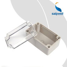 New ABS Junction Box China Supplier Clear Cover Enclosure Equipment with Cable Gland Plastic ABS Junction Box IP65