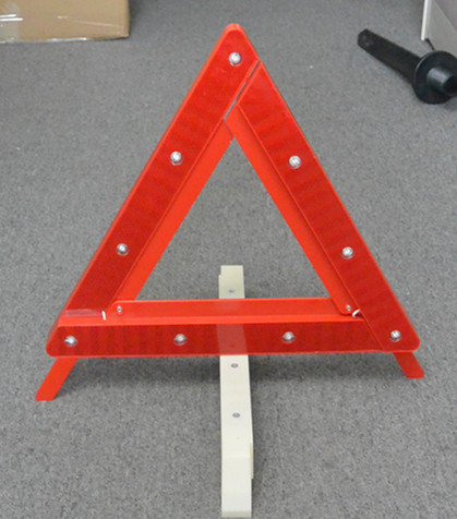 Accessoire de voiture, de sécurité rouge réfléchissant triangle d'avertissement d'urgence