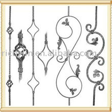 Wrought Iron Panels / Newel Posts