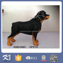 garden ornaments resin dog figurine for wholesale