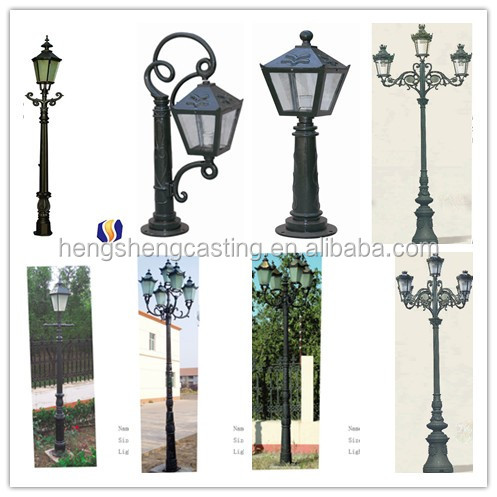 Cast Iron garden l& pole/lighting pole / l& post  sc 1 st  Alibaba & Cast Iron Garden Lamp Pole/lighting Pole / Lamp Post - Buy Cast Iron ...