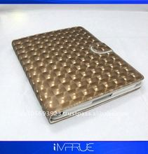 top quality!! magnetic leather protector case for ipad 2 withwake power saving features