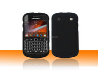 For Mobile Phone Blackberry BB990 Leather Case,Solid Rubber Matte Plastic Design Case For Blackberry BB990