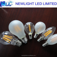 2015 Hot sales dimmable led filament bulb with 8W 6W 4W