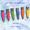 Wholesale silicon nail clippers with hole