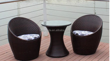 Outdoor Furniture, Rattan Wicker Coffee Set with Cushions,OEM and ODM Orders are Welcome