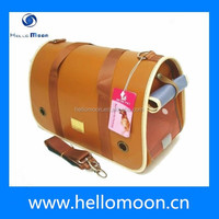 2015 Specially Design Fashion Leather Carrier Bag For Dog