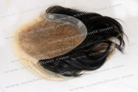 4inch cinese Natural Straight free style toupee