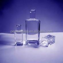 140ml liquor/alcohol/spirit glass bottle