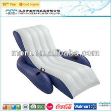 factory 2015 new design pool lounge inflatable beach sofa